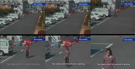 Target Tracking with Pan-Tilt-Zoom Cameras